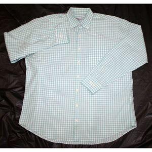Peter Millar Long Sleeve Button Front Shirt